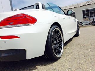 New 19 Quot Lenso Op7 Staggered Alloys Wider 9 5 Quot Rear Bm