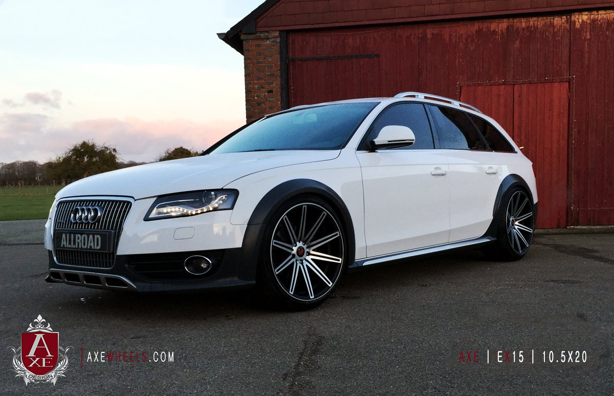 New 19 Quot Axe Ex15 Deep Concave Alloys In Gloss Black Polish