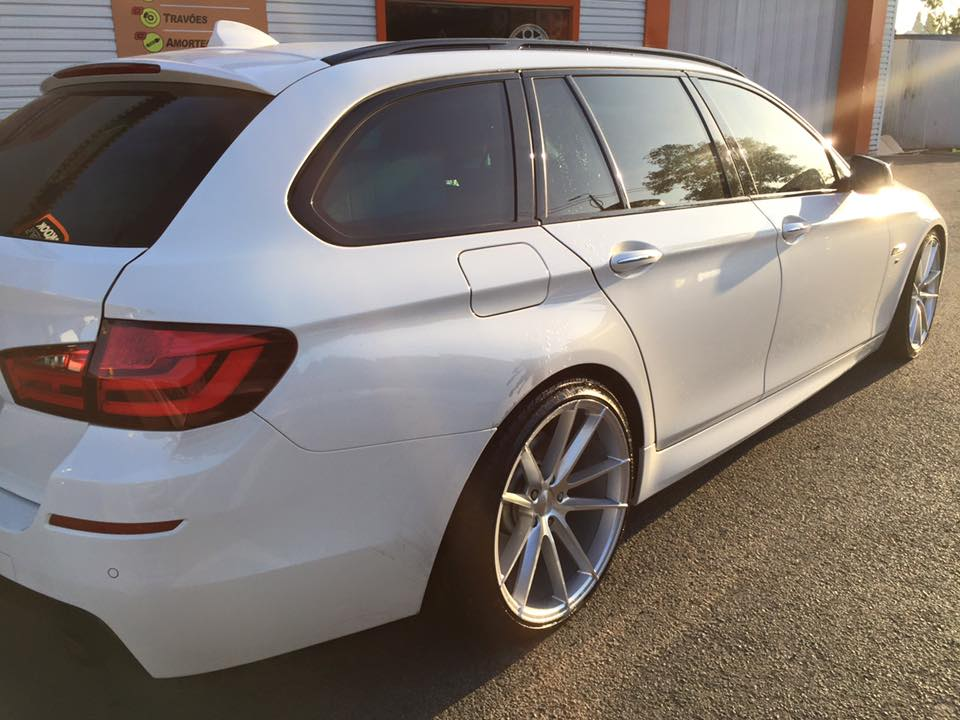 New 19 Quot Veemann V Fs24 Alloys In Silver Pol With Wider 9 5