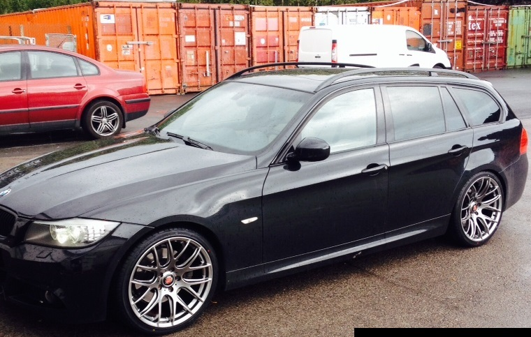 New 19 Quot Axe Cs Lite Alloys In Hyper Black With Very Deep