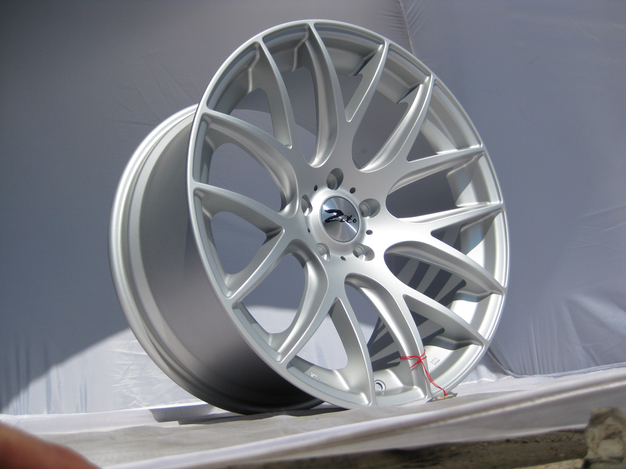 New 20 Quot Zito 935 Csl Gts Staggered Alloys Finished In Rare