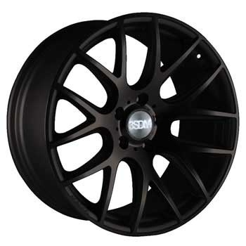 "NEW 18"" 3SDM 0.01 ALLOY WHEELS, SATIN BLACK,VERY DEEP CONCAVE 9.5"" REARS. et45/40"