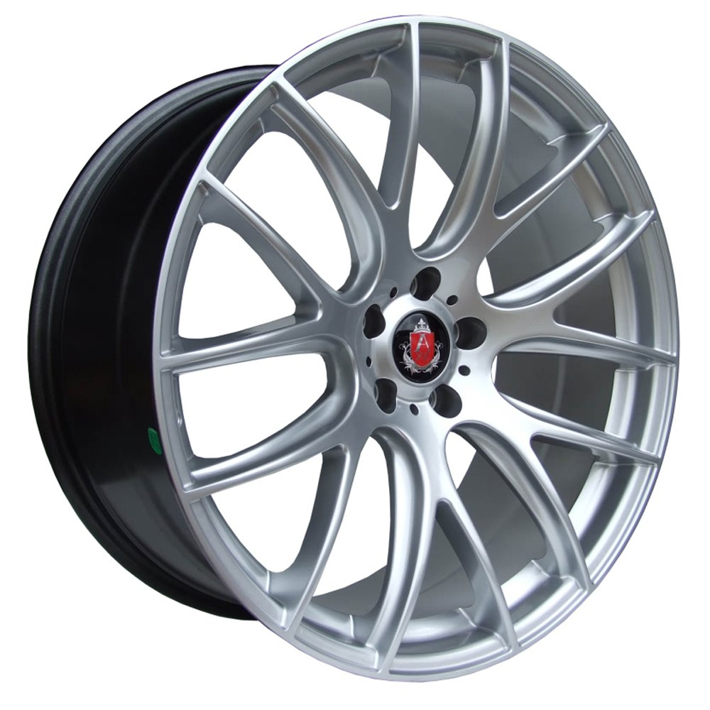 "NEW 20"" AXE CS LITE ALLOYS IN HYPER SILVER 8.5""ET38 ALL ROUND"