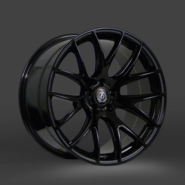 "NEW 20"" AXE CS LITE ALLOY WHEELS IN GLOSS BLACK 8.5""ET38 ALL ROUND"