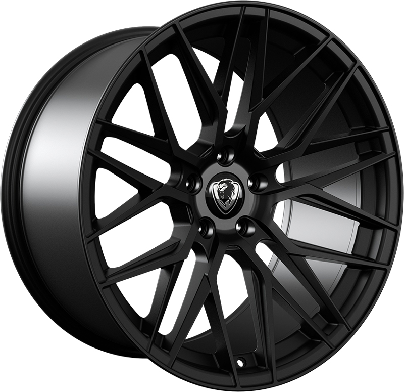 "NEW 20"" CADES HERA ALLOY WHEELS IN MATT BLACK WITH 10"" DEEP CONCAVE REARS"