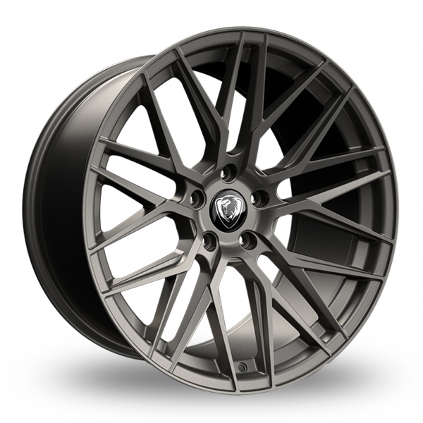 "NEW 20"" CADES HERA ALLOY WHEELS IN MATT GUNMETAL WITH 10"" DEEP CONCAVE REARS"