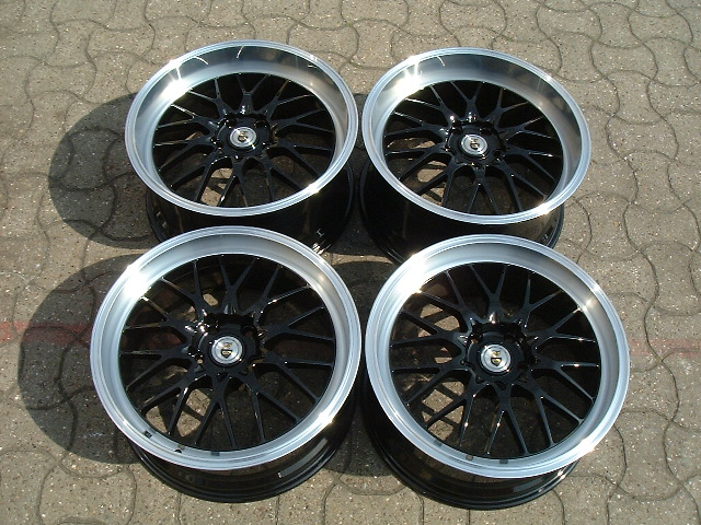 New 18 Quot Cades Tyrus Gloss Black Alloys Very Deep Dish 9