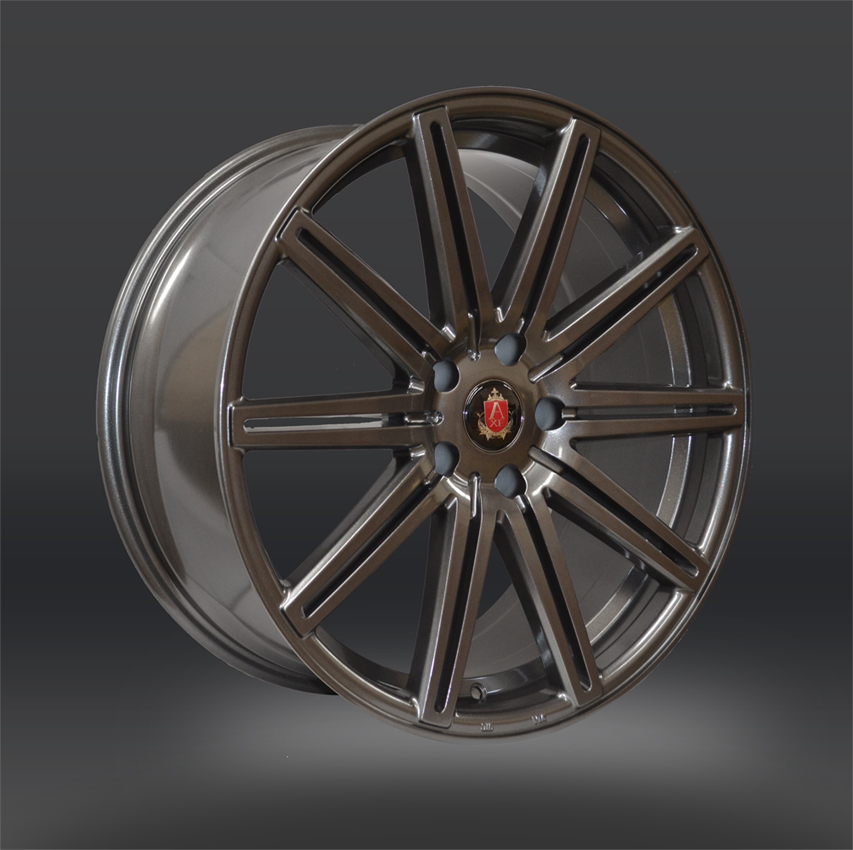"NEW 20"" AXE EX15 CONCAVED ALLOY WHEELS IN GLOSS GUNMETAL 9""ET35 ALL ROUND"
