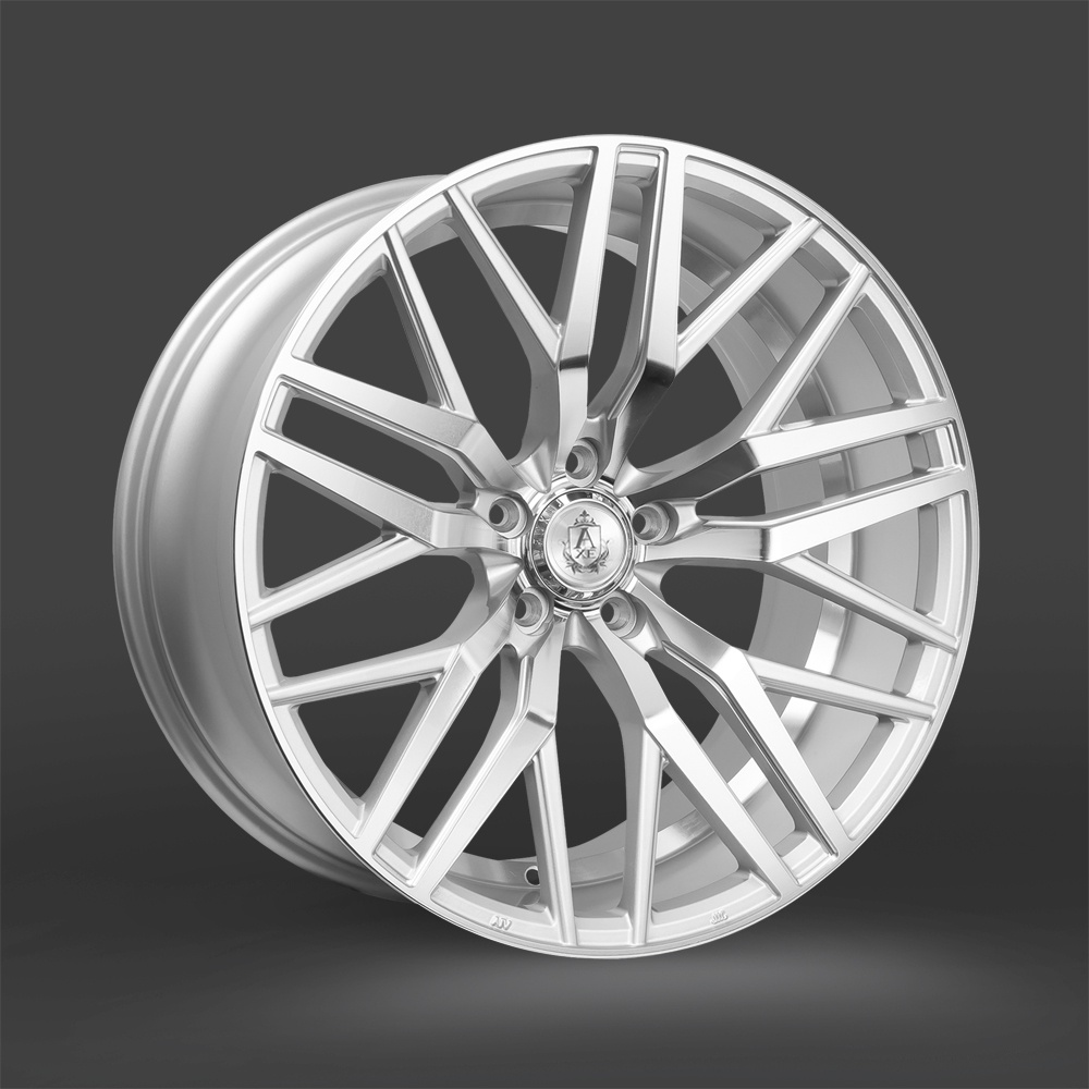 "NEW 20"" AXE EX30 ALLOY WHEELS IN SILVER POL, DEEP CONCAVE, WIDER 10"" REAR"