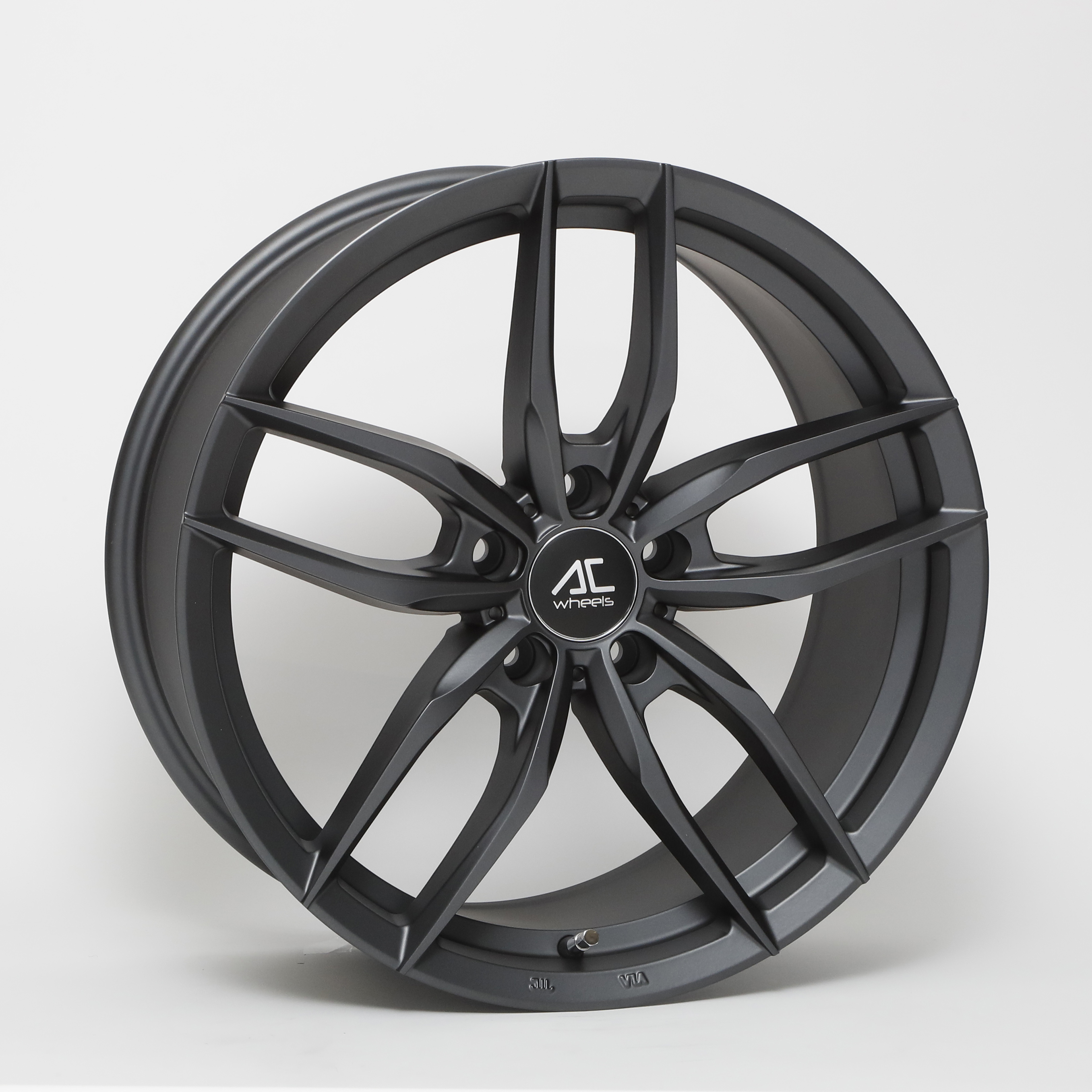 "NEW 19"" AC FF029 FLOW FORMED ALLOYS IN MATT GUNMETAL, WIDER 9.5"" REARS"