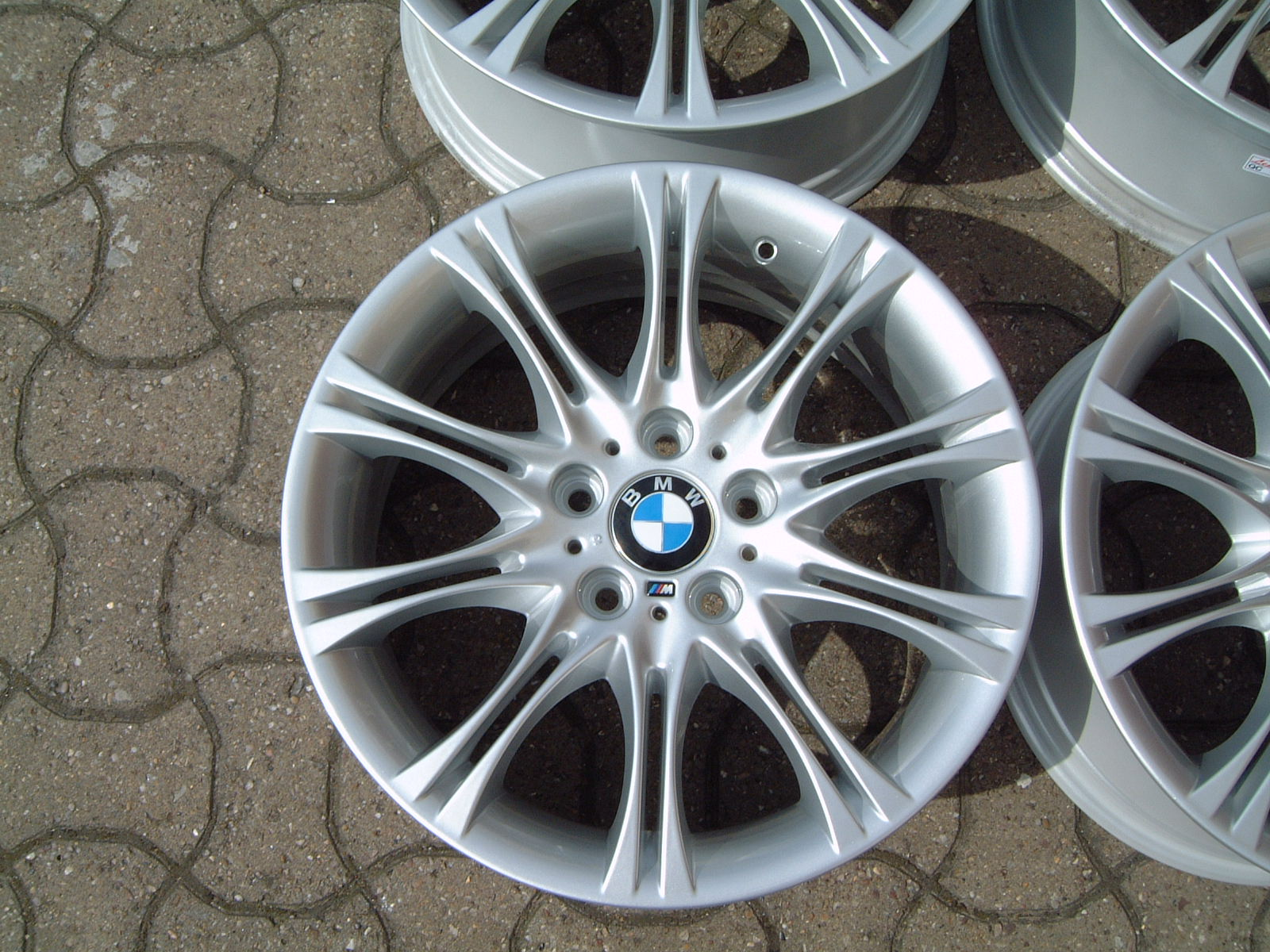 "USED 18"" GENUINE STYLE 135 E46 M SPORT MV2 ALLOYS,WIDE REAR,FULLY REFURBED"