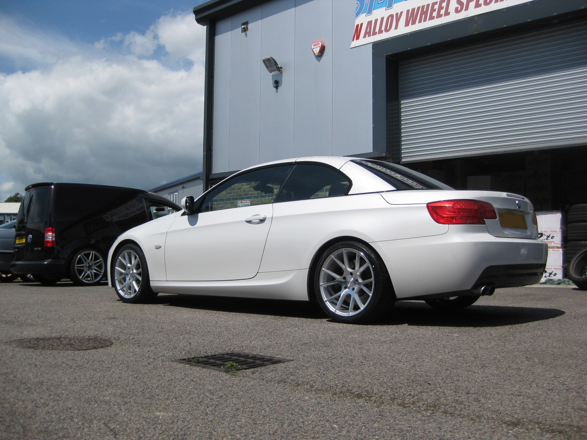 New 18 Quot Veemann V Fs23 Alloys In Silver Pol With Wider 9