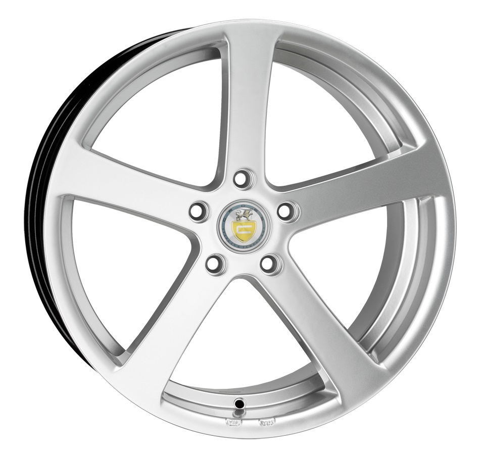 "NEW 19"" CADES APOLLO ALLOY WHEELS IN HYPER SILVER WITH DEEP CONCAVE WIDER 9.5"" REARS"