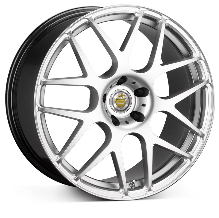 "NEW 19"" CADES BERN HYPER SILVER CROSS SPOKE ALLOYS, WIDER 10"" CONCAVED REAR"