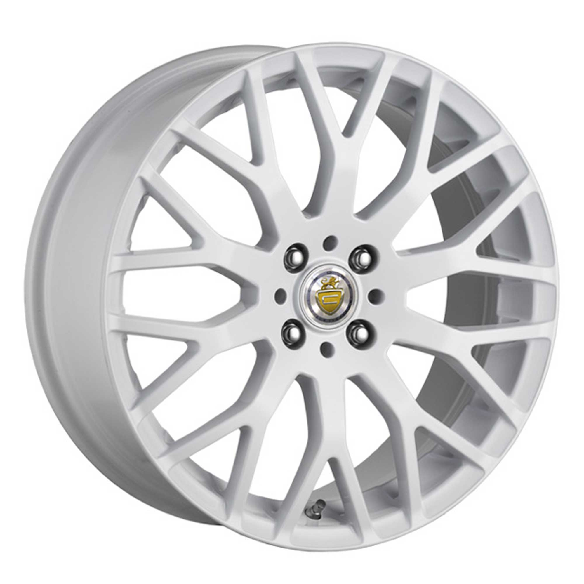 "NEW 17"" CADES VIENNA ALLOY WHEELS IN WHITE"