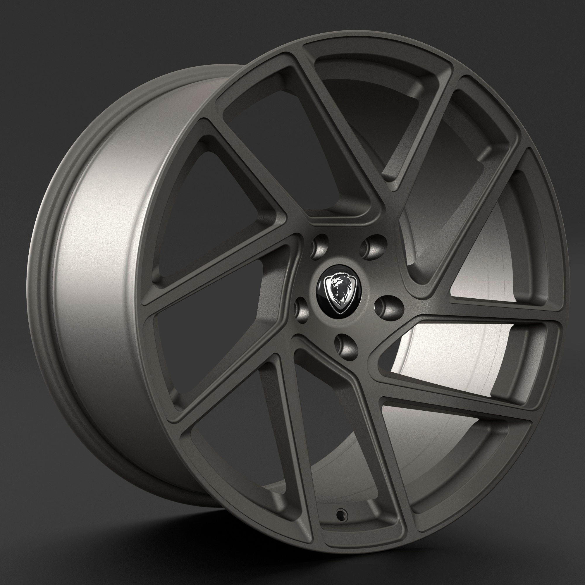 "NEW 20"" CADES ATHENA ALLOY WHEELS IN MATT GUNMETAL DIRECT 65.1CB"