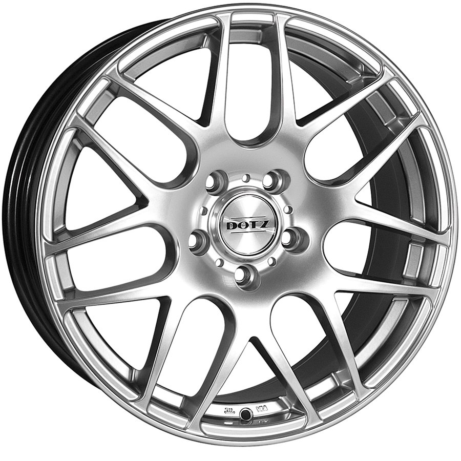 "NEW 19"" DOTZ EXILE ALLOYS, SHADOW SILVER,9.5"" DEEPER CENTRE ALL ROUND,STUNNING QUALITY AT BARGAIN PRICE!!ET35"