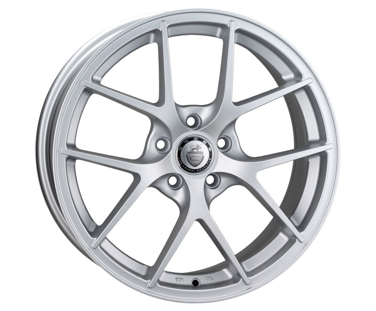 "NEW 18"" CADES SHIFT ALLOYS IN FROZEN SILVER, WIDER 9"" REARS"