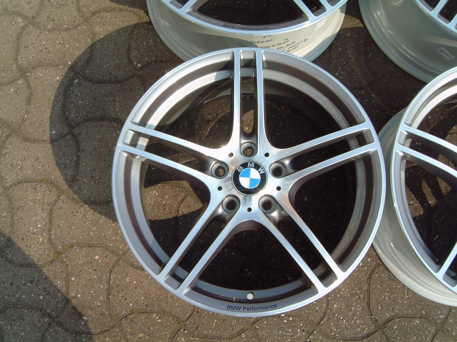 "USED 19"" GENUINE STYLE 313 E92 M SPORT ALLOYS,FULLY REFURBED,WIDE REAR"