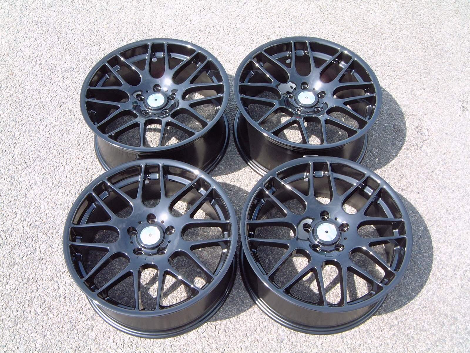 New 19 Quot Riva Dtm Csl Alloys Gloss Black Deeper Concave