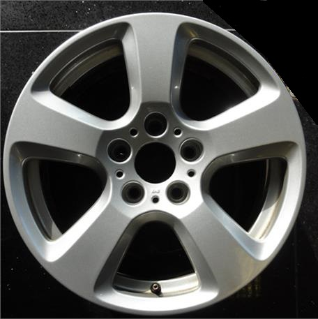 "USED 17"" GENUINE STYLE 243 5 SPOKE ALLOY WHEELS, GOOD USED CONDITION"