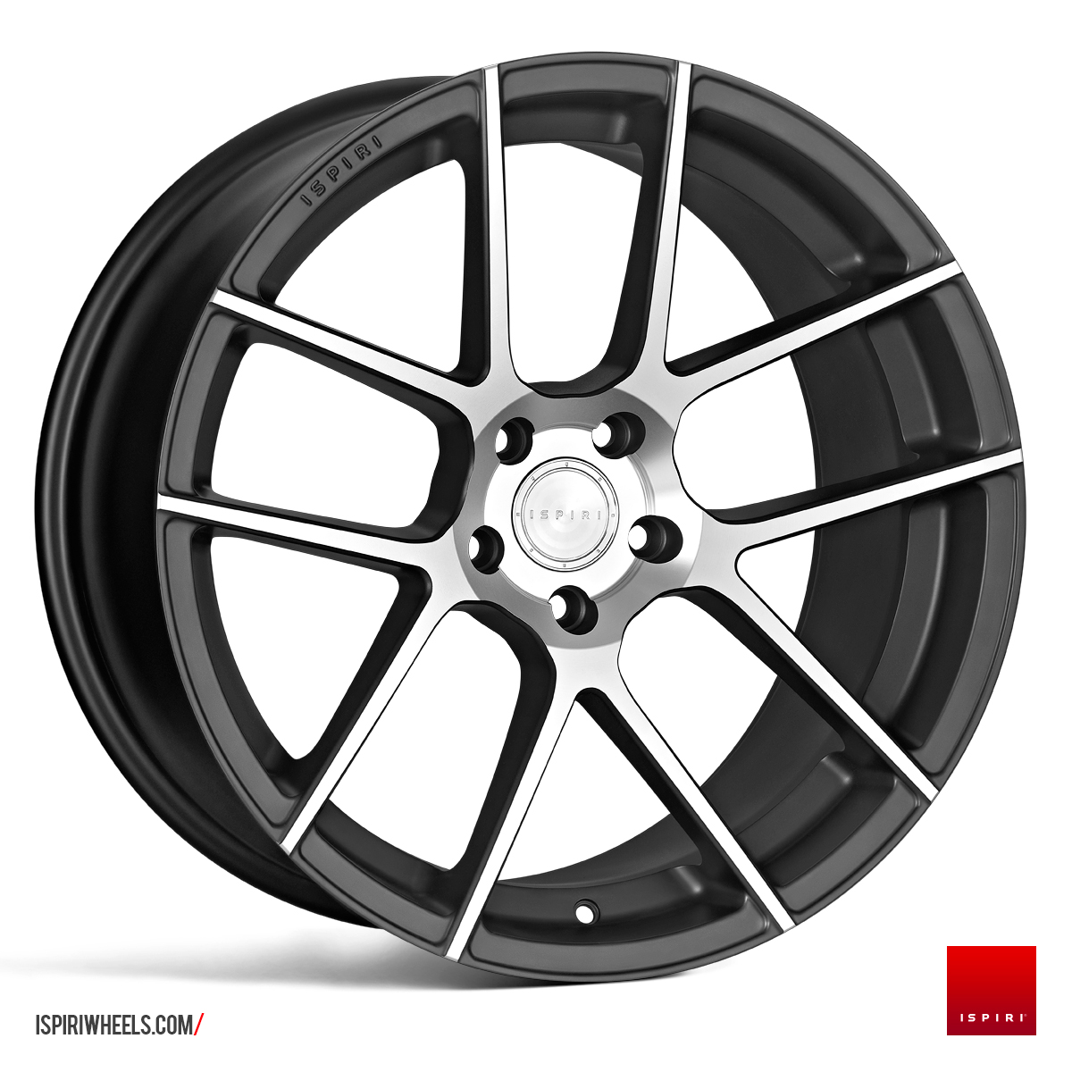 "NEW 20"" ISPIRI ISR6 IN SATIN GRAPHITE/SATIN POL WITH DEEPER CONCAVE 10"" REARS"