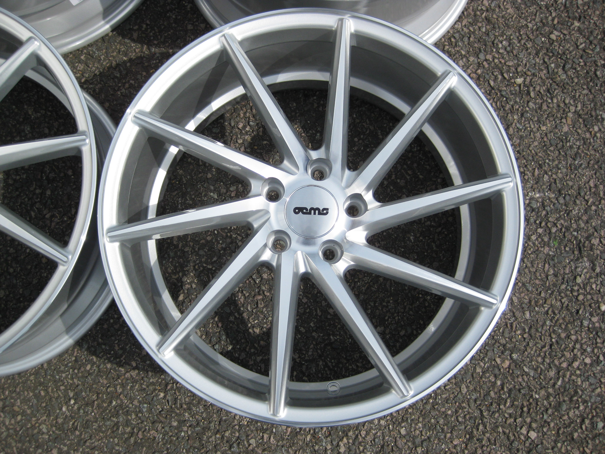 New 19 Quot Oems Fs10 Directional Alloys In Silver With