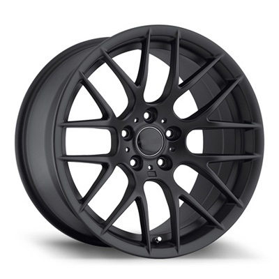 "NEW 18"" AVANT GARDE M359 Y SPOKE ALLOY WHEELS IN SATIN BLACK DEEPER CONCAVE 9.5"" REAR"