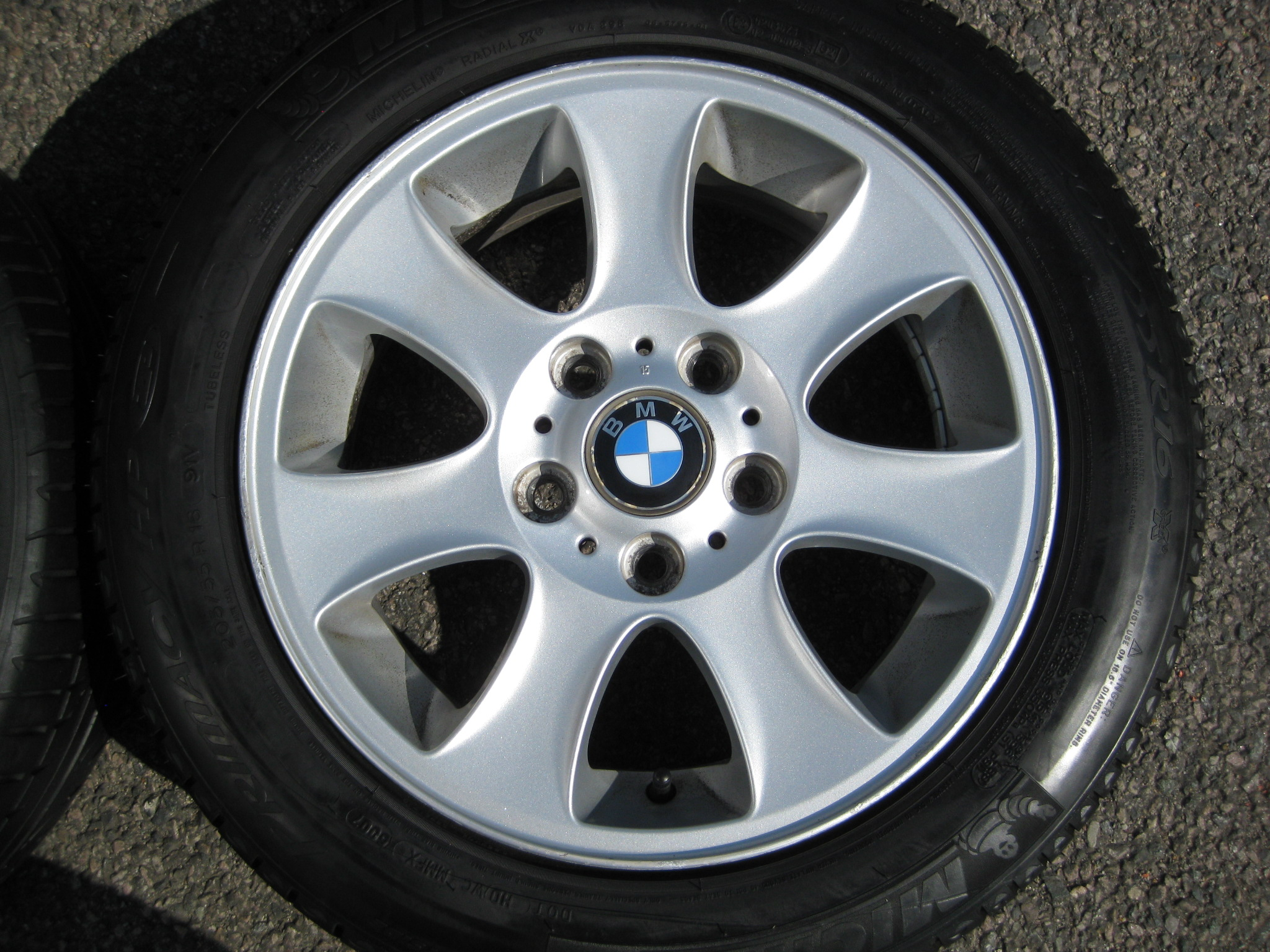 Used 16 Quot Genuine Style 151 7 Spoke Alloys Clean Inc Very
