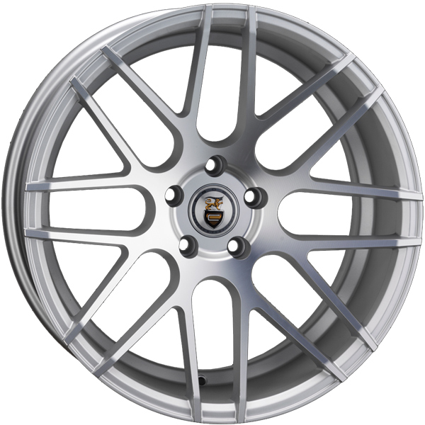 "NEW 19"" CADES ARTEMIS IN SILVER ALLOYS, WIDER 9.5"" REAR ET38/40"