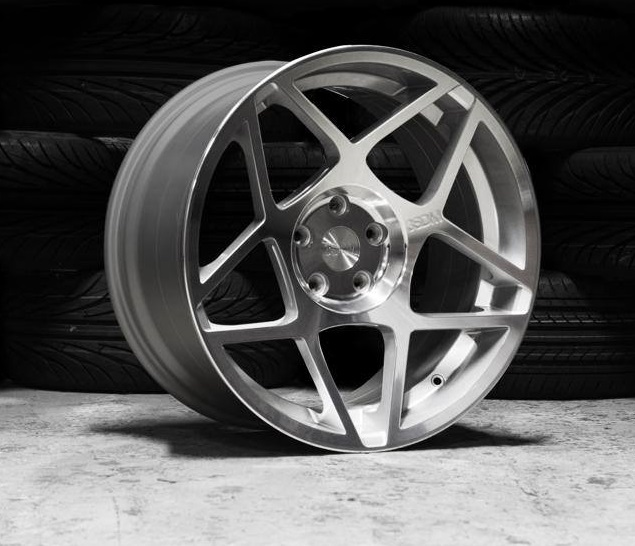 "NEW 20"" 3SDM 0.08 ALLOYS, SILVER POLISHED, VERY DEEP CONCAVE 10.5"" REARS"