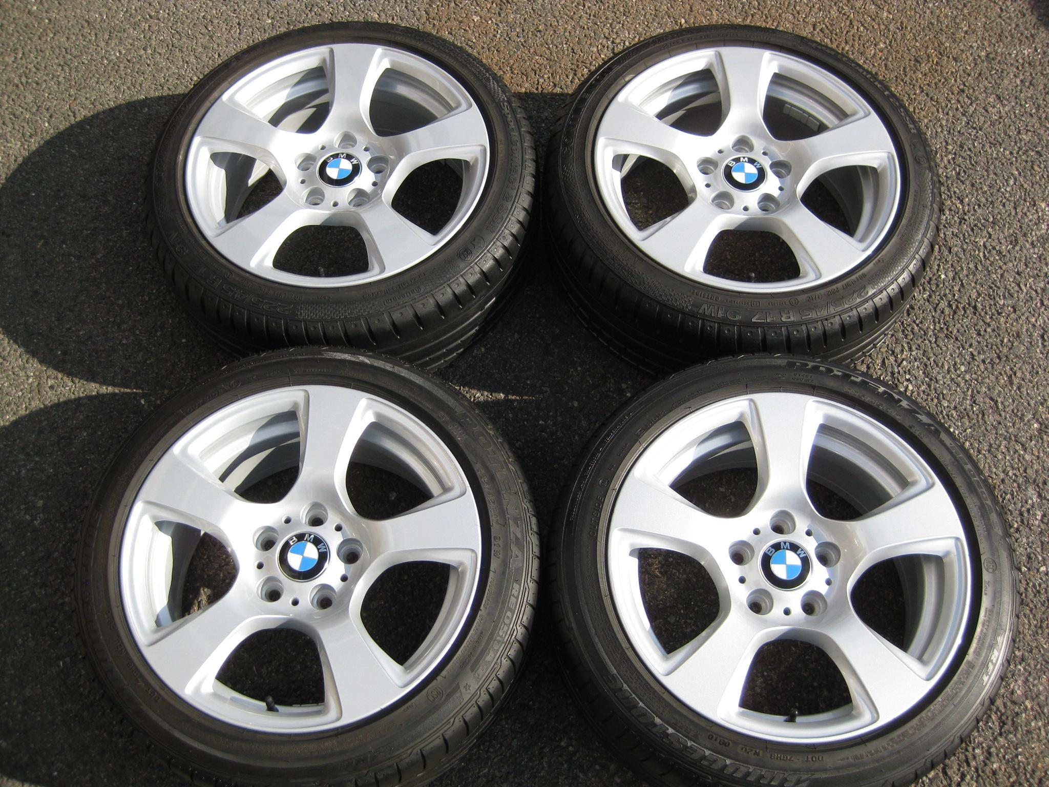 Used 17 Quot Genuine Style 157 E92 5 Spoke Alloys Fully Refurbed Inc Runflats Bm Autosport Ltd