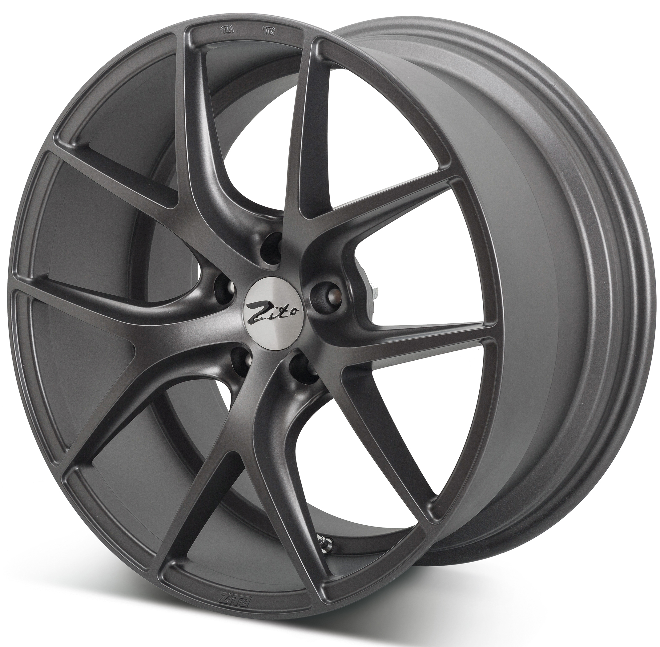 "NEW 20"" ZITO ZS05 ALLOYS IN MATT GUNMETAL  DEEP CONCAVE 11"" ALL ROUND"
