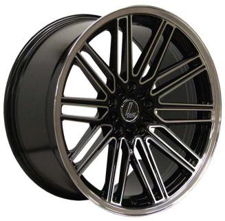 "NEW 19"" LENSO OP7 STAGGERED ALLOYS, WIDER 9.5"" REAR"