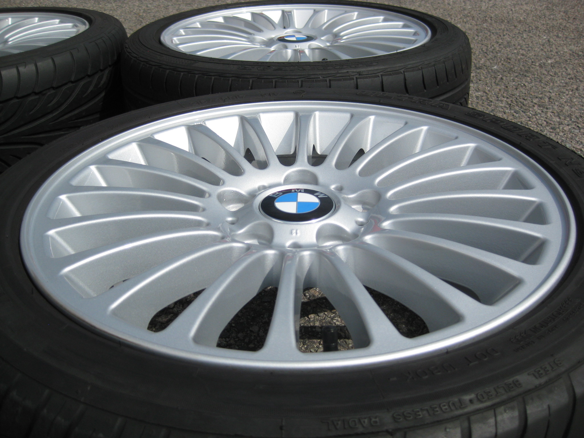 Used 17 Quot Genuine Style 73 Radial Spoke Alloys Fully