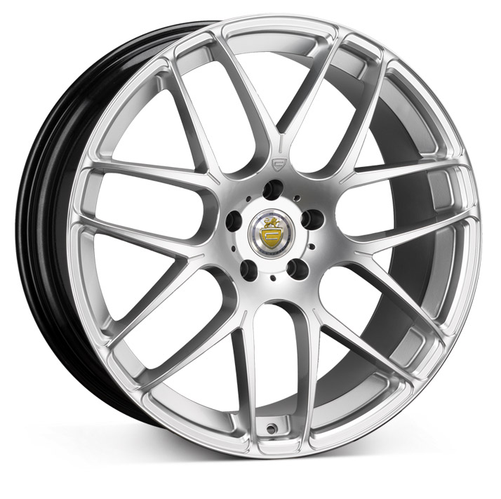 "NEW 20"" CADES BERN ALLOY WHEELS IN SILVER WITH MILLED POLISHED ACCENT EDGES DIRECT 65.1CB"