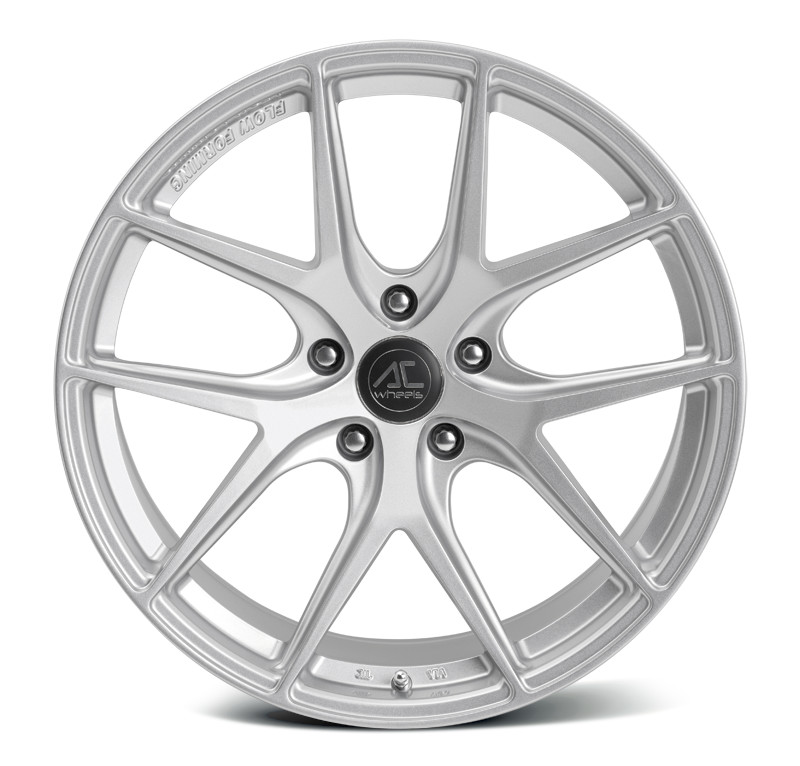 "NEW 18"" AC FF007 FLOW FORMED ALLOYS IN HYPER SILVER, WIDER 10"" REARS"