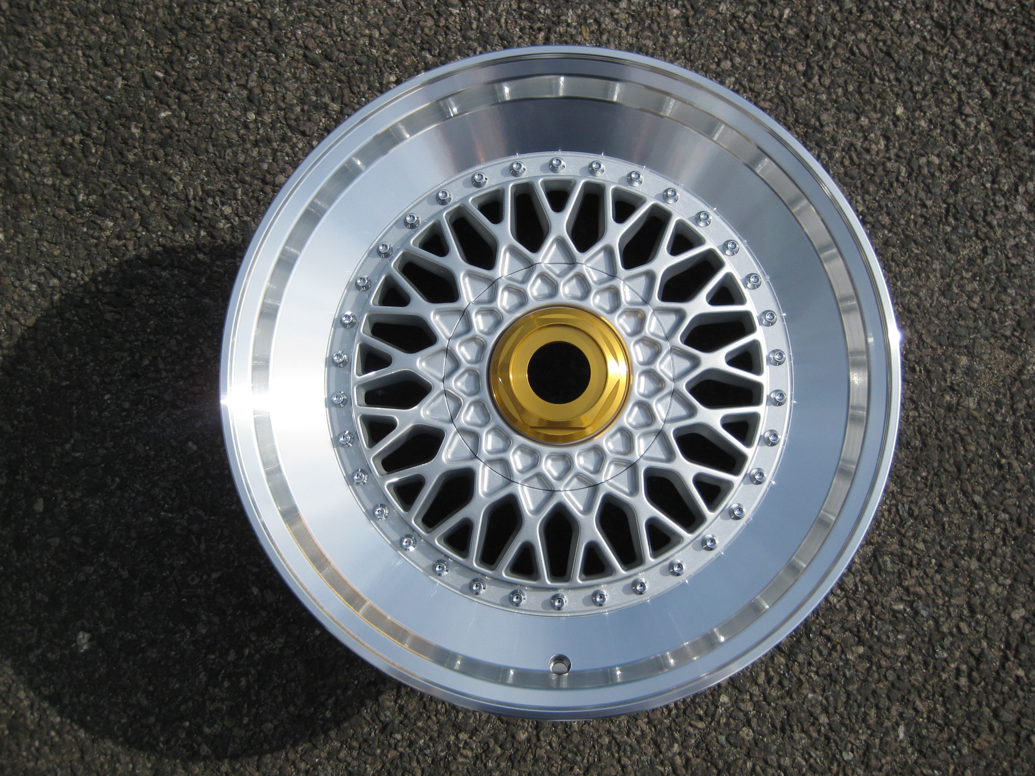 New 18 Quot Rs Step Up Style Alloys In Silver With Silver