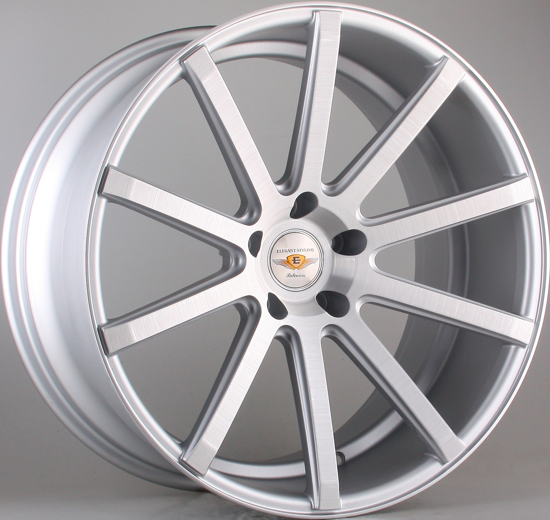 "NEW 20"" JUDD T202 ALLOY WHEELS IN SILVER WITH POLISHED FACE, WIDER 9.5"" REARS"
