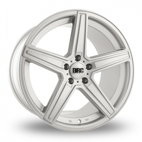 "NEW 19"" D-RC DMA ALLOY WHEELS IN SILVER DEEPER CONCAVE 9.5"" REARS et35/45"