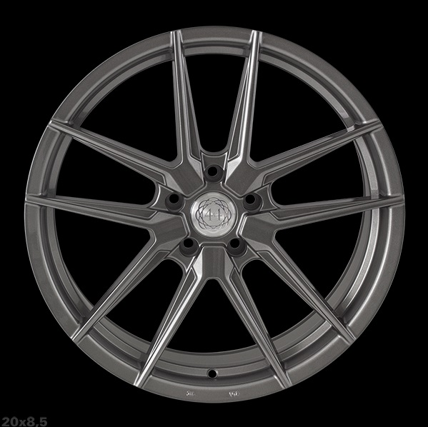 "NEW 20"" QUANTUM44 SFF1 IN DIAMOND GRAPHITE, DEEPER CONCAVE 10"" REARS - VARIOUS OFFSETS AVAILABLE"
