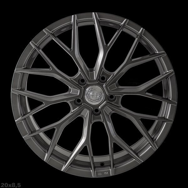 "NEW 20"" QUANTUM44 SFF2 IN DIAMOND GRAPHITE, DEEPER CONCAVE 10"" REARS - VARIOUS OFFSETS AVAILABLE"