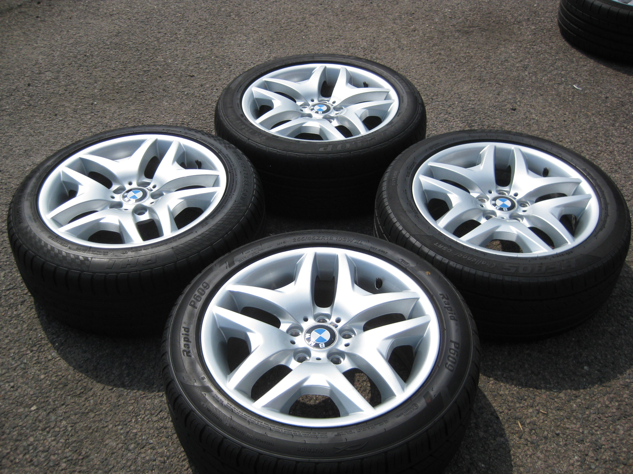 Used 18 Quot Genuine Style 192 Sport V Spoke Alloys Wide Rear