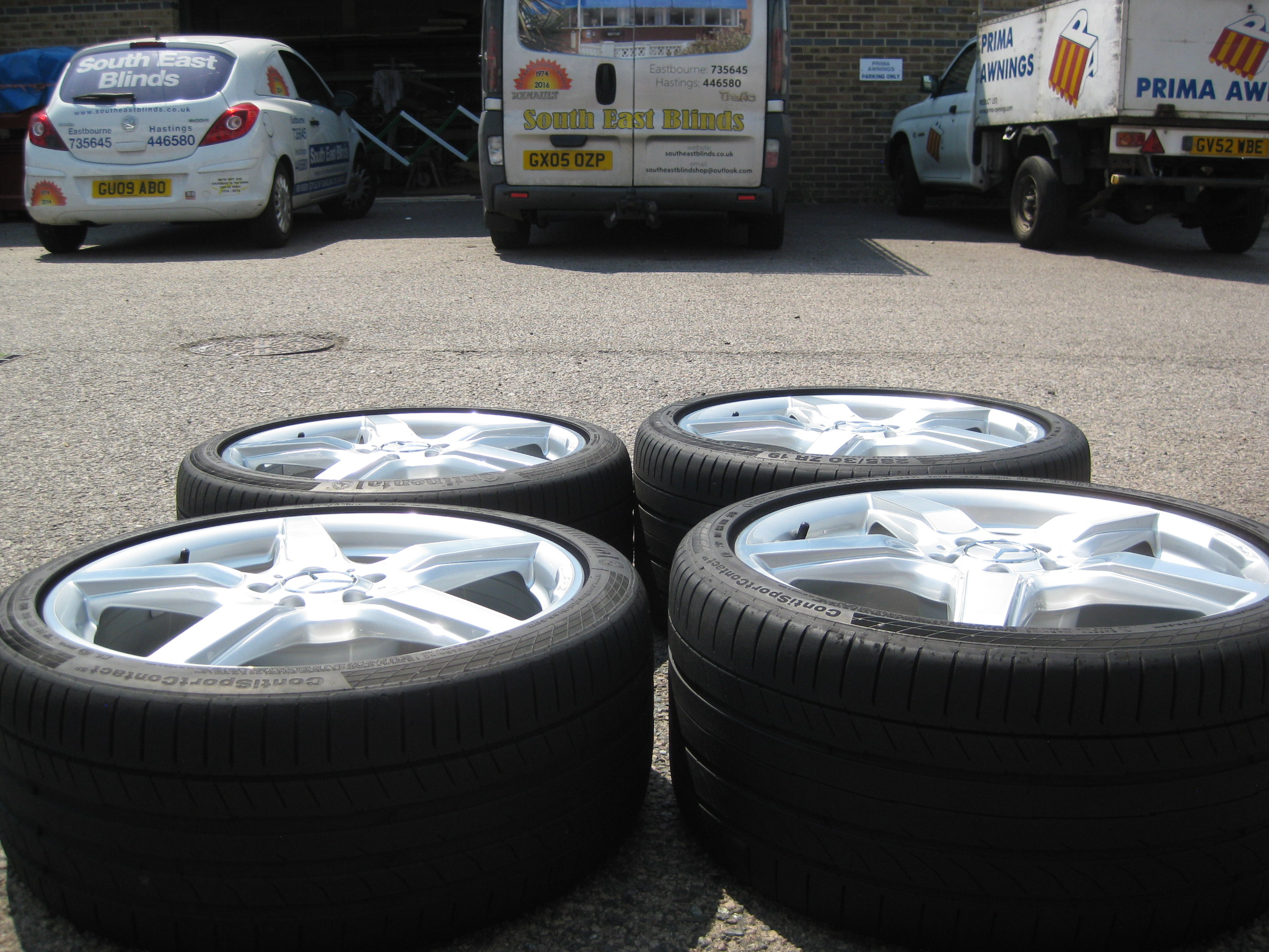 Used 19 Quot Genuine Mercedes Cls C218 Amg 5 Spoke Alloys
