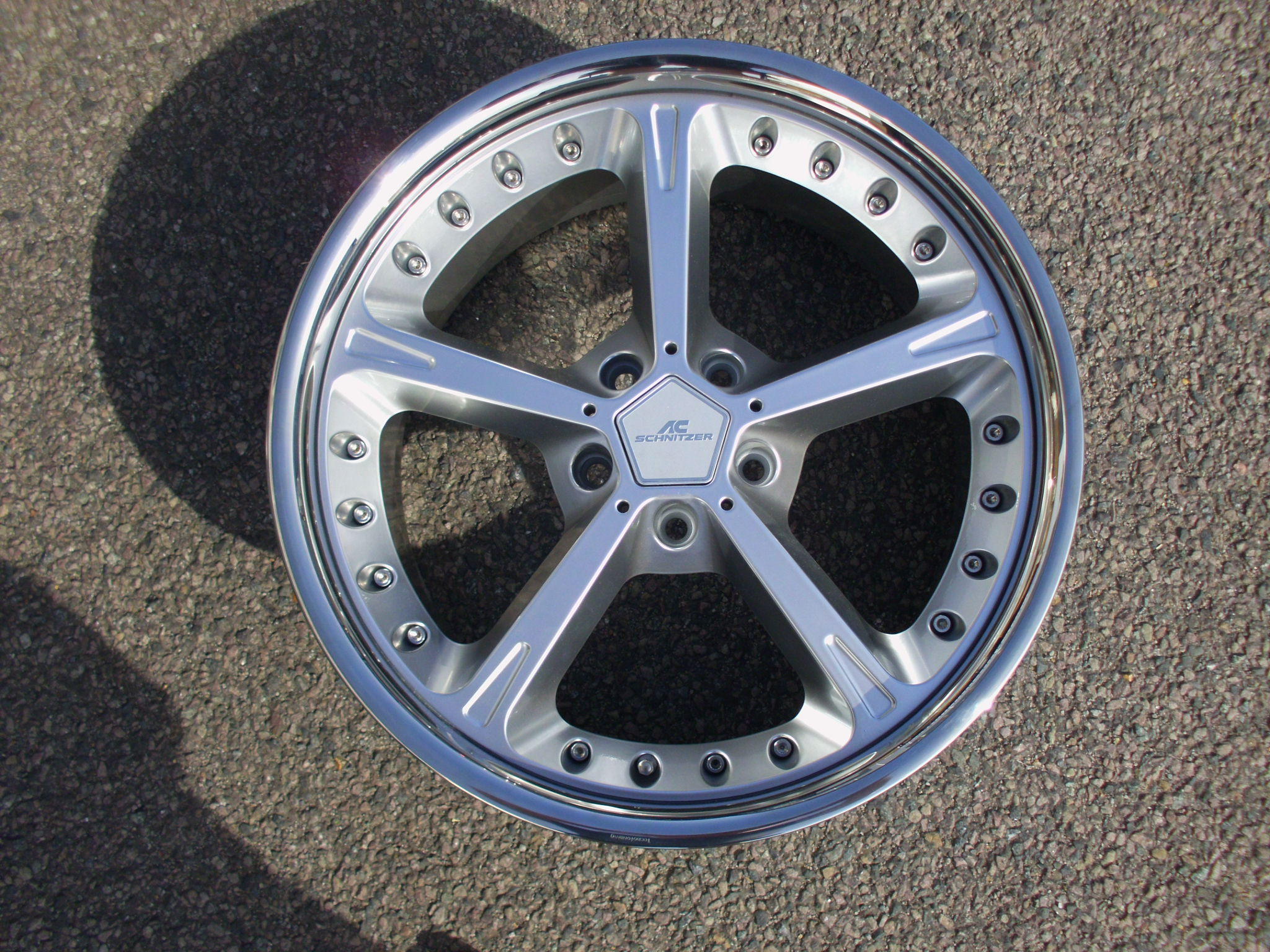 "NEW SINGLE 20"" GENUINE AC SCHNITZER TYPE IV RACING REAR 10"" ALLOY WHEEL"