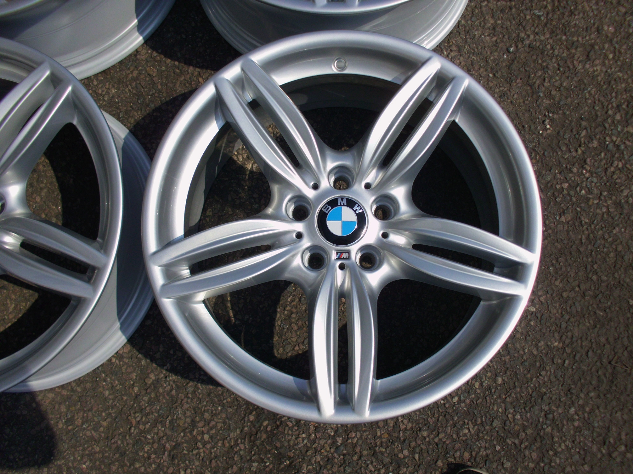 "USED 19"" GENUINE BMW F11 STYLE 351 M SPORT ALLOY WHEELS, FULLY REFURBED, STUNNING"