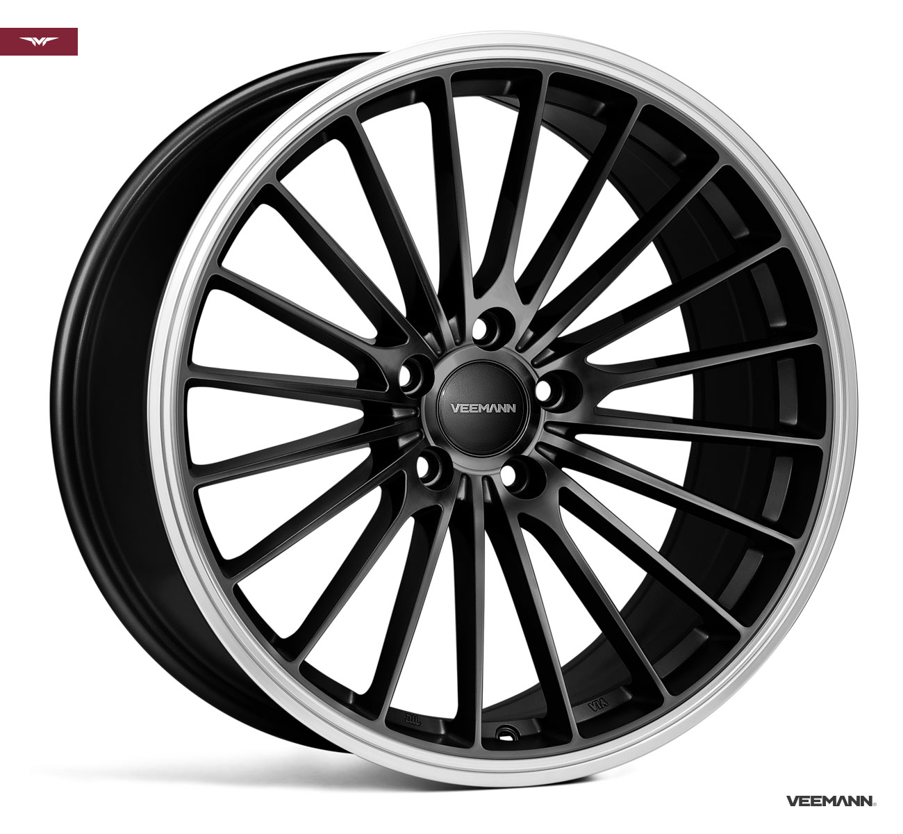 "NEW 20"" VEEMANN V-FS36 ALLOY WHEELS IN GLOSS BLACK , WIDER 10"" REARS"