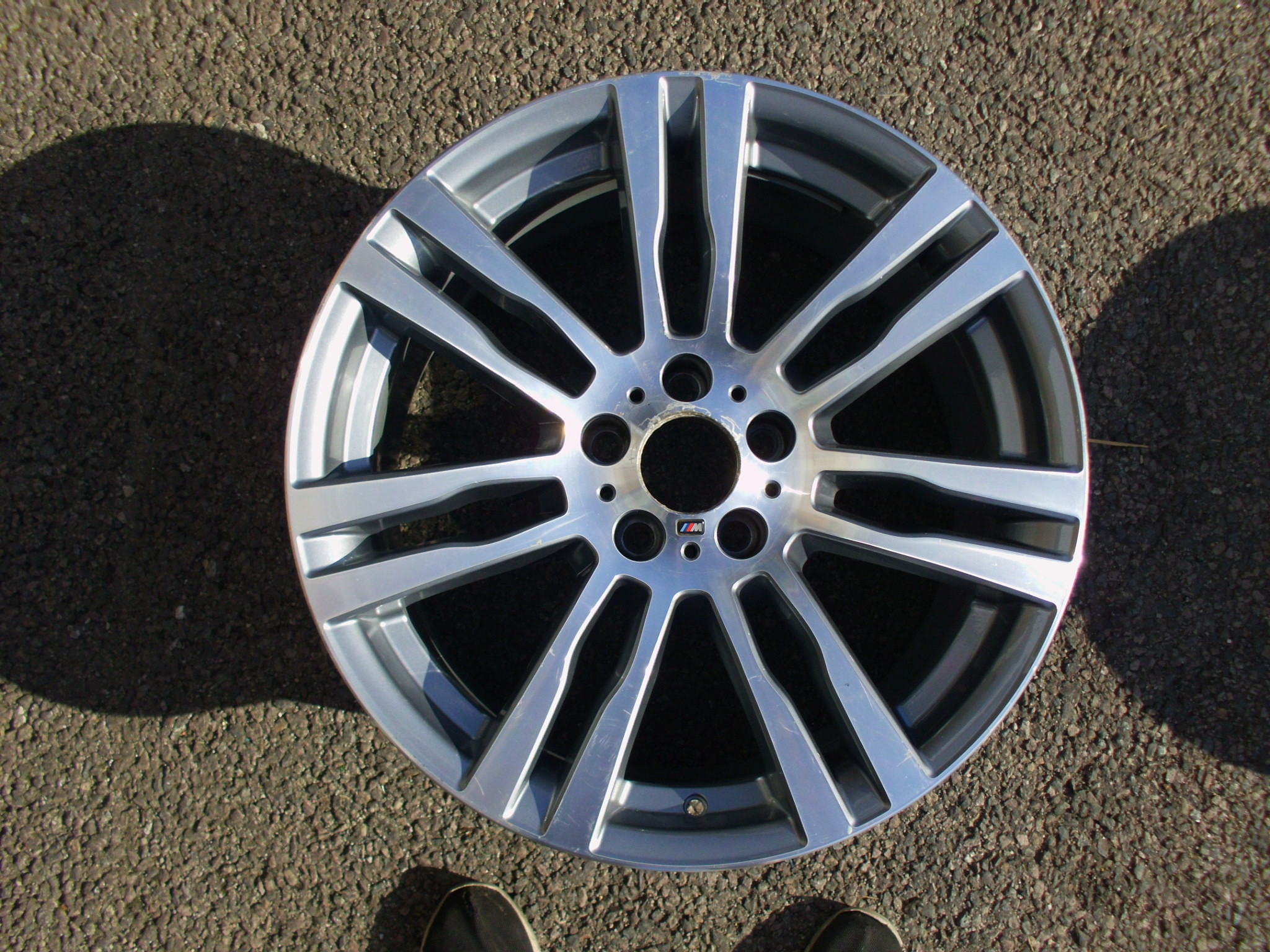 "USED SINGLE 20"" GENUINE BMW E70 X5 FRONT STYLE 333M ALLOY WHEEL, GOOD ORIGINAL CONDITION"