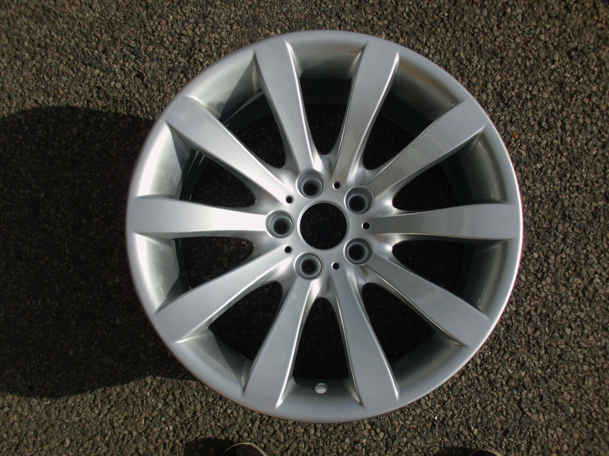 "USED SINGLE 19"" GENUINE BMW E63 6 SERIES STYLE 218 REAR ALLOY WHEEL, FULLY REFURBISHED IN ORIGINAL FINISH"