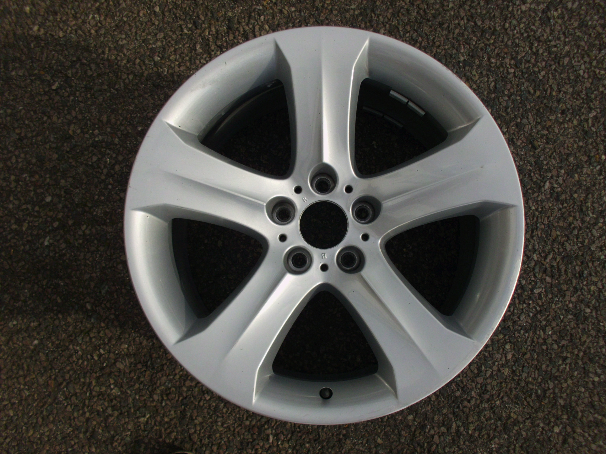 "USED SINGLE 19"" GENUINE BMW E71 X6 REAR STYLE 258 ALLOY WHEEL, GOOD CLEAN CONDITION"